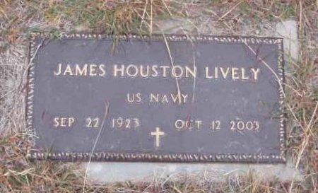 LIVELY (VETERAN), JAMES HOUSTON  - Callahan County, Texas | JAMES HOUSTON  LIVELY (VETERAN) - Texas Gravestone Photos