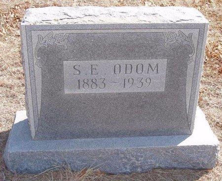 ODOM, S. E. - Callahan County, Texas | S. E. ODOM - Texas Gravestone Photos
