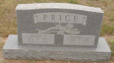 PRICE, ROBBIE J. - Callahan County, Texas | ROBBIE J. PRICE - Texas Gravestone Photos