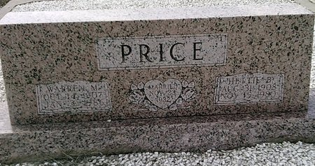 PRICE, HETTIE B. - Callahan County, Texas | HETTIE B. PRICE - Texas Gravestone Photos