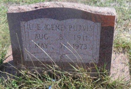 "PURVIS, L. E. ""GENE"" - Callahan County, Texas | L. E. ""GENE"" PURVIS - Texas Gravestone Photos"