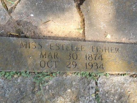 FISHER, ESTELLE - Camp County, Texas | ESTELLE FISHER - Texas Gravestone Photos