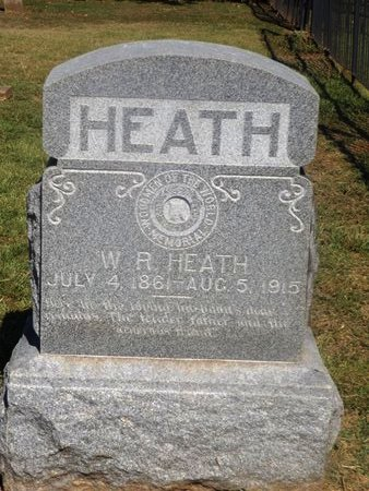 HEATH, WILLIAM ROBERT - Camp County, Texas | WILLIAM ROBERT HEATH - Texas Gravestone Photos