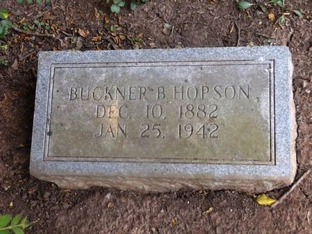 HOPSON, BUCKNER B - Camp County, Texas   BUCKNER B HOPSON - Texas Gravestone Photos