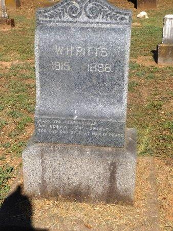 PITTS (VETERAN), WILLIAM HARRISON - Camp County, Texas   WILLIAM HARRISON PITTS (VETERAN) - Texas Gravestone Photos