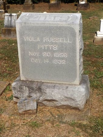 PITTS RUSSELL, VIOLA - Camp County, Texas   VIOLA PITTS RUSSELL - Texas Gravestone Photos