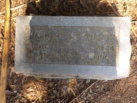 WILSON, BAKER DUNN - Camp County, Texas | BAKER DUNN WILSON - Texas Gravestone Photos