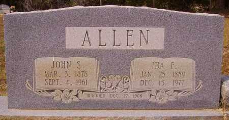 CAPPS ALLEN, IDA F - Cass County, Texas | IDA F CAPPS ALLEN - Texas Gravestone Photos