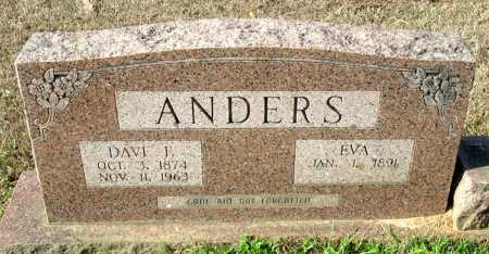 ANDERS, DAVE F - Cass County, Texas | DAVE F ANDERS - Texas Gravestone Photos