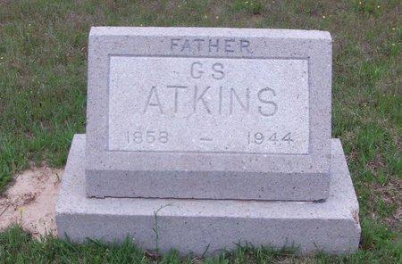 ATKINS, G.S. - Cass County, Texas | G.S. ATKINS - Texas Gravestone Photos