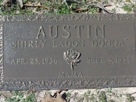 "AUSTIN, SHIRLY LADON ""DONNA"" - Cass County, Texas | SHIRLY LADON ""DONNA"" AUSTIN - Texas Gravestone Photos"