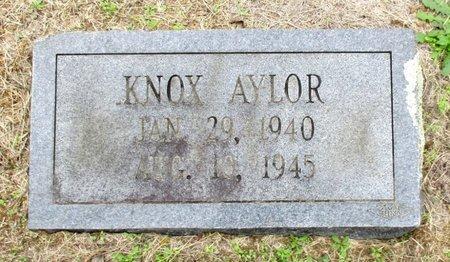 AYLOR, KNOX - Cass County, Texas   KNOX AYLOR - Texas Gravestone Photos