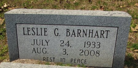 BARNHART, LESLIE G - Cass County, Texas | LESLIE G BARNHART - Texas Gravestone Photos