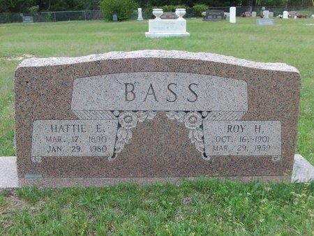 BASS, HATTIE E. - Cass County, Texas | HATTIE E. BASS - Texas Gravestone Photos