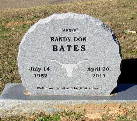 BATES, RANDY DON - Cass County, Texas | RANDY DON BATES - Texas Gravestone Photos