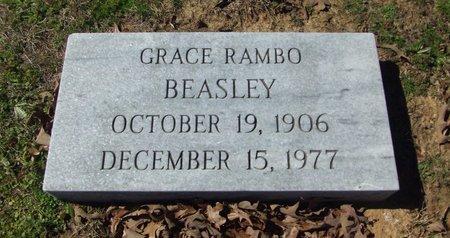 RAMBO BEASLEY, GRACE - Cass County, Texas | GRACE RAMBO BEASLEY - Texas Gravestone Photos