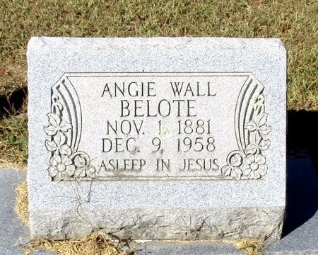 BELOTE, ANGIE - Cass County, Texas | ANGIE BELOTE - Texas Gravestone Photos