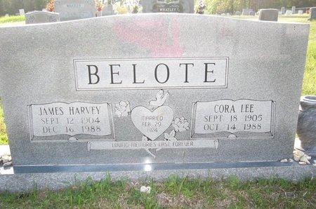 BELOTE, CORA LEE - Cass County, Texas | CORA LEE BELOTE - Texas Gravestone Photos