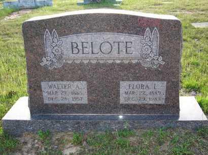 BELOTE, FLORA L - Cass County, Texas | FLORA L BELOTE - Texas Gravestone Photos