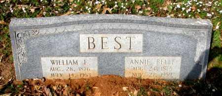 BEST, WILLIAM E.  - Cass County, Texas | WILLIAM E.  BEST - Texas Gravestone Photos