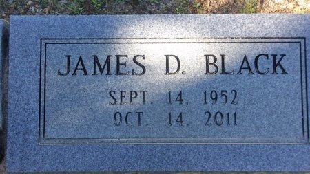 BLACK, JAMES D - Cass County, Texas   JAMES D BLACK - Texas Gravestone Photos