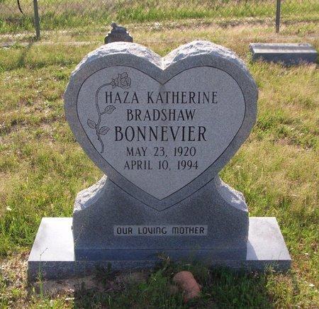 BONNEVIER, HAZA KATHERINE - Cass County, Texas | HAZA KATHERINE BONNEVIER - Texas Gravestone Photos