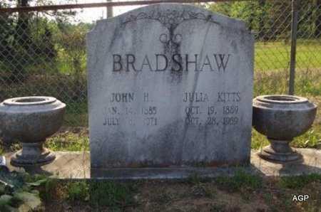 KITTS BRADSHAW, JULIA - Cass County, Texas | JULIA KITTS BRADSHAW - Texas Gravestone Photos