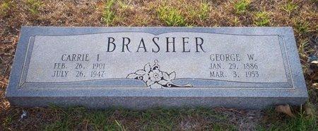 BRASHER, CARRIE I - Cass County, Texas | CARRIE I BRASHER - Texas Gravestone Photos