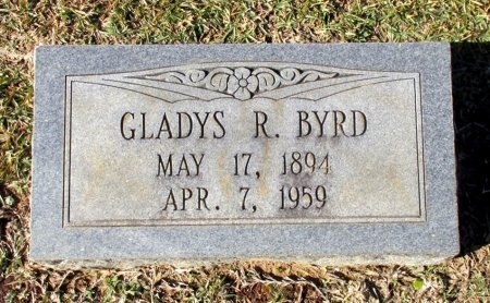 BYRD, GLADYS R. - Cass County, Texas | GLADYS R. BYRD - Texas Gravestone Photos