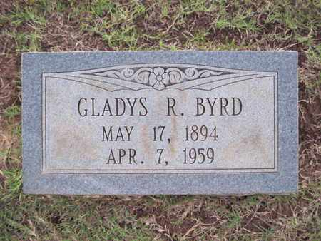 BYRD, GLADYS R - Cass County, Texas | GLADYS R BYRD - Texas Gravestone Photos