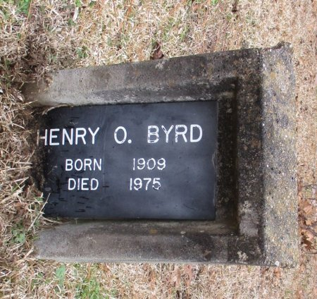 BYRD, HENRY O.  - Cass County, Texas | HENRY O.  BYRD - Texas Gravestone Photos