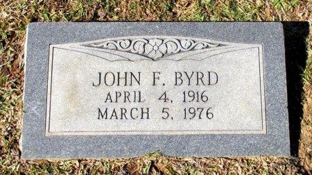 BYRD, JOHN F. - Cass County, Texas | JOHN F. BYRD - Texas Gravestone Photos