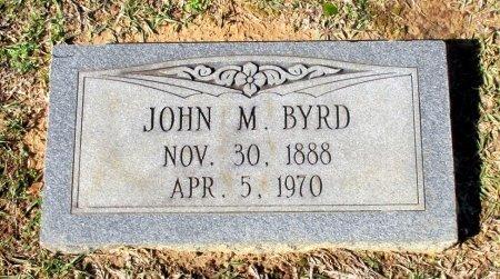 BYRD, JOHN M. - Cass County, Texas   JOHN M. BYRD - Texas Gravestone Photos