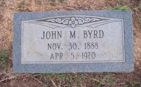 BYRD, JOHN M - Cass County, Texas   JOHN M BYRD - Texas Gravestone Photos