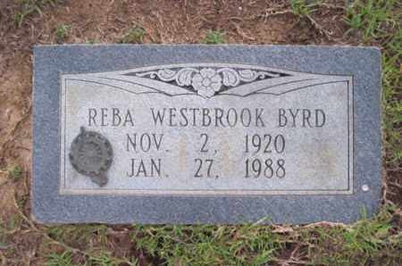 BYRD, REBA - Cass County, Texas | REBA BYRD - Texas Gravestone Photos
