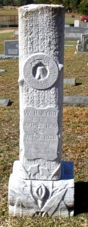 BYRD, W. H. - Cass County, Texas | W. H. BYRD - Texas Gravestone Photos