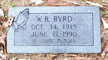 BYRD, W. B.  - Cass County, Texas | W. B.  BYRD - Texas Gravestone Photos