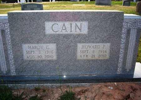 CAIN, HARDY C - Cass County, Texas | HARDY C CAIN - Texas Gravestone Photos