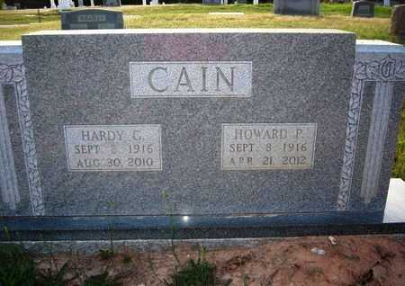 CAIN, HOWARD P - Cass County, Texas | HOWARD P CAIN - Texas Gravestone Photos