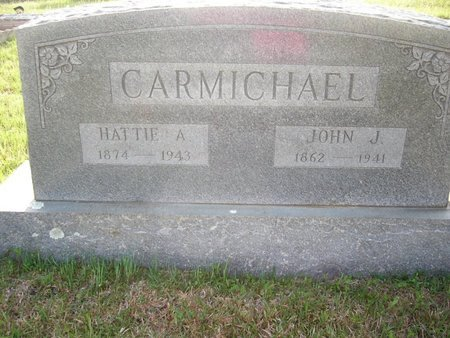 CARMICHAEL, HATTIE A - Cass County, Texas | HATTIE A CARMICHAEL - Texas Gravestone Photos