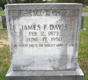 DAVIS, JAMES F - Cass County, Texas | JAMES F DAVIS - Texas Gravestone Photos