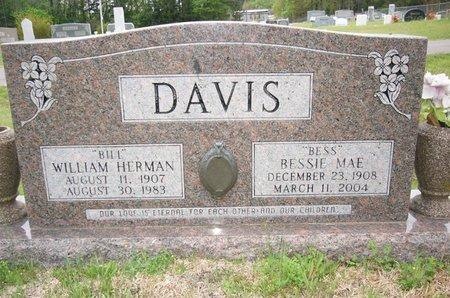 "DAVIS, WILLIAM HERMAN ""BILL"" - Cass County, Texas | WILLIAM HERMAN ""BILL"" DAVIS - Texas Gravestone Photos"