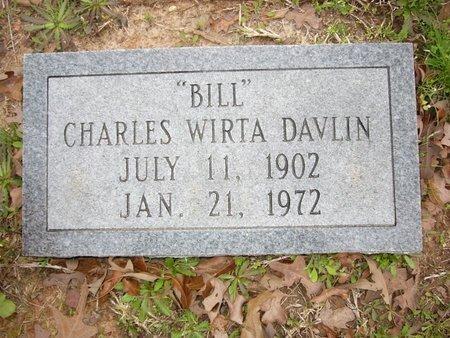 "DAVLIN, CHARLES WIRTA ""BILL"" - Cass County, Texas | CHARLES WIRTA ""BILL"" DAVLIN - Texas Gravestone Photos"