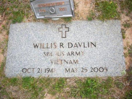 DAVLIN (VETERAN VIET), WILLIA R - Cass County, Texas | WILLIA R DAVLIN (VETERAN VIET) - Texas Gravestone Photos