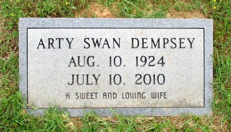 DEMPSEY, ARTY   - Cass County, Texas | ARTY   DEMPSEY - Texas Gravestone Photos