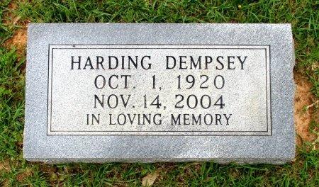 DEMPSEY, HARDING  - Cass County, Texas | HARDING  DEMPSEY - Texas Gravestone Photos