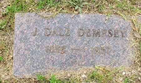 DEMPSEY, J. DALE - Cass County, Texas   J. DALE DEMPSEY - Texas Gravestone Photos