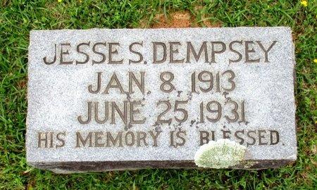 DEMPSEY, JESSE S  - Cass County, Texas | JESSE S  DEMPSEY - Texas Gravestone Photos