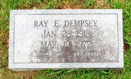 DEMPSEY, RAY E  - Cass County, Texas | RAY E  DEMPSEY - Texas Gravestone Photos