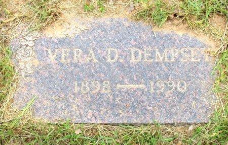 DEMPSEY, VERA D - Cass County, Texas | VERA D DEMPSEY - Texas Gravestone Photos